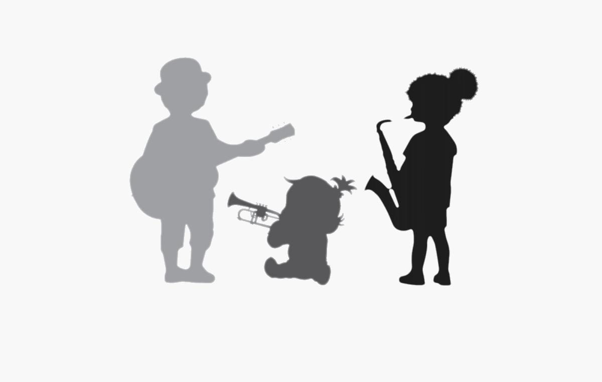Logo So Groaovy silhouettes